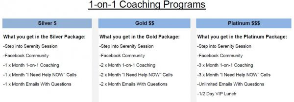 Private 1-on-1 Coaching Program