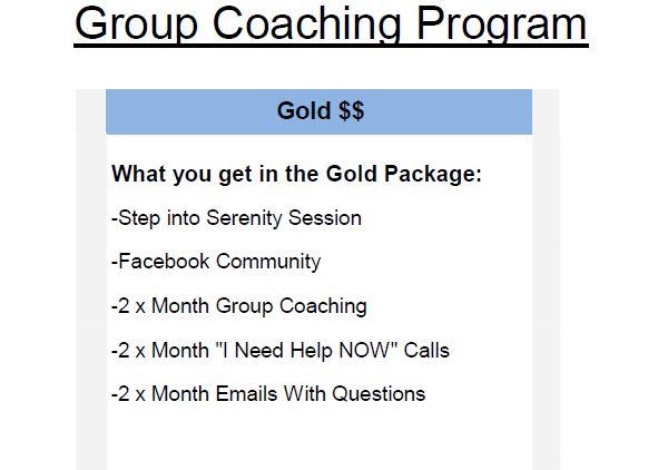 Group coaching program description
